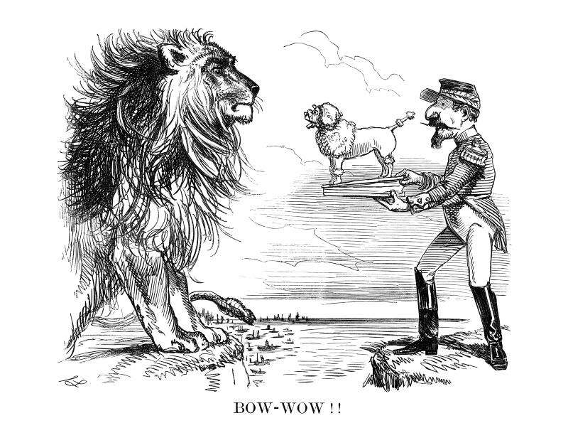 Bow - Wow!! by John Leech, 1859