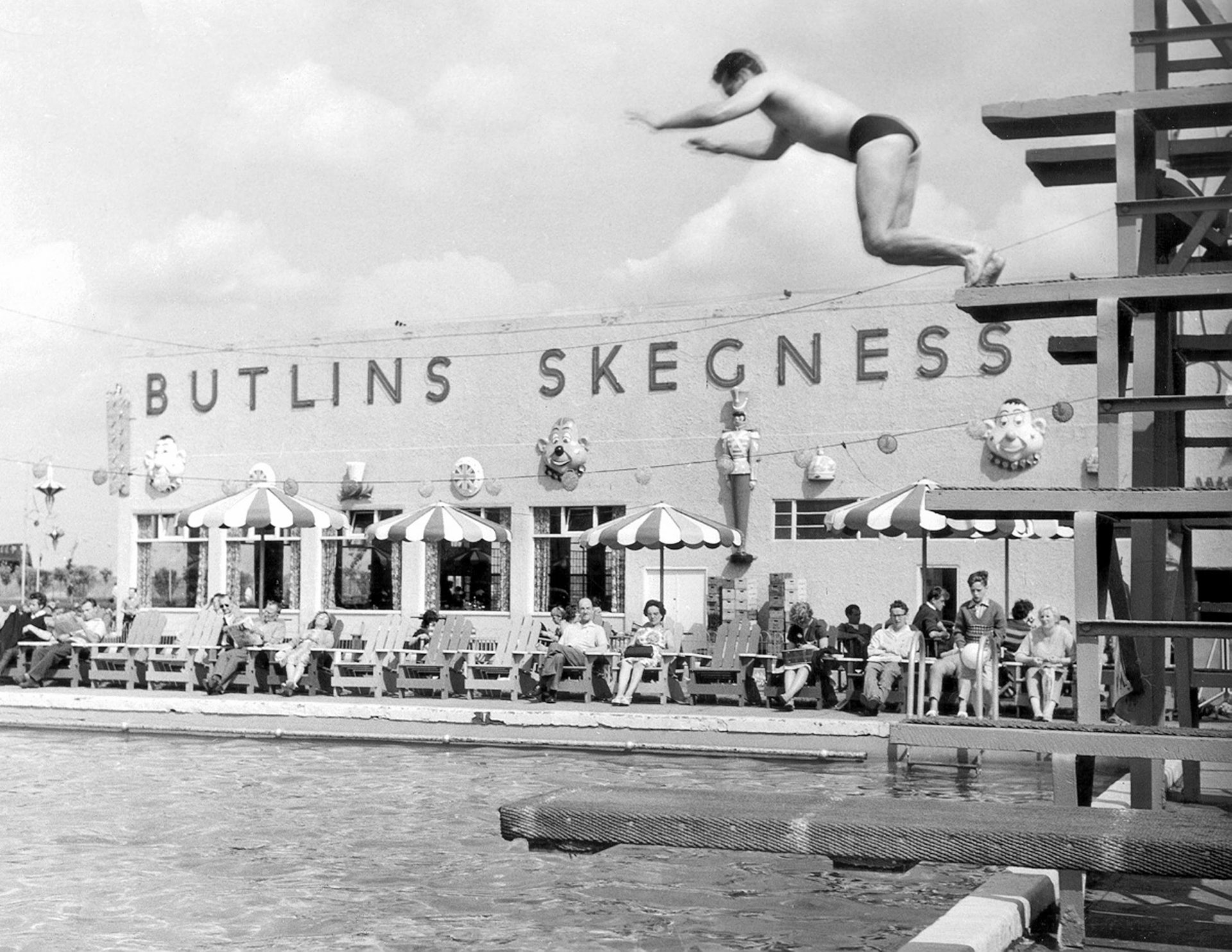 Butlins in Skegness 1950s